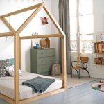минималистичный домик кровать для детской