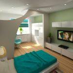 Идеи оформления гостиной спальни