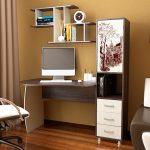 компьютерные столы для дома в интерьере