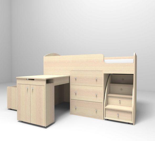 Мебель из ДСП светлая