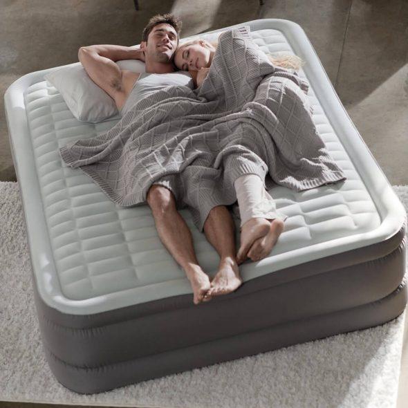 Надувные кровати двухспальные