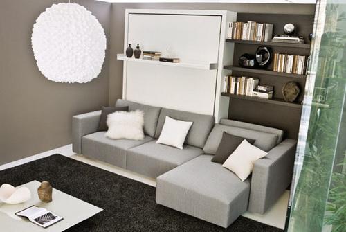Подъемные кровати с диваном