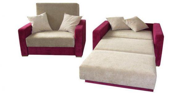 Раскладное кресло-кровать с ящиком