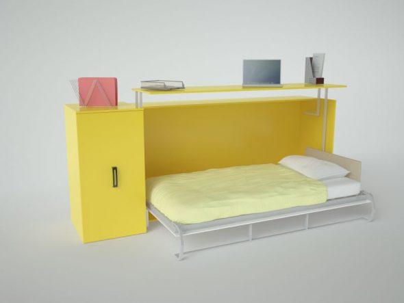 Удобства стола-кровати