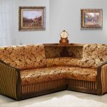 Угловой диван-кровать «Анна»
