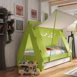шалаш кровать в детскую
