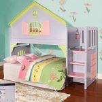 кровать домик для девочки