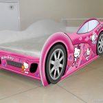 машинка кроватка хело китти