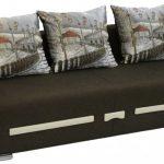 диван еврокнижка с красивыми подушками