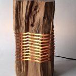 дизайнерский пень светильник из дерева