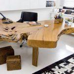 дизайнерская мебель стол из дерева