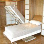 Два откидных спальных места