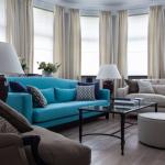 гостиная с диванами