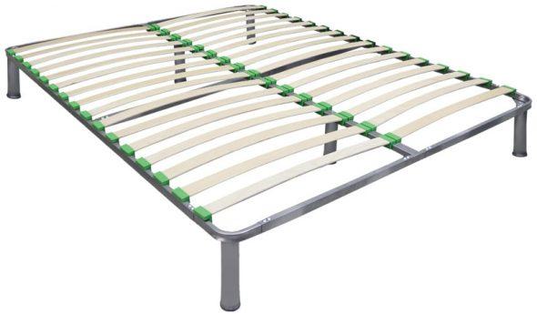 Каркас из ламелей для металлического основания кровати