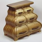 дизайнерская мебель комод из дерева