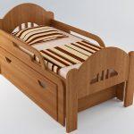 Кровать детская раздвижная вырастайка