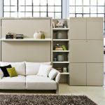 кровать-диван в большую и просторную гостиную