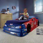 кровать машинка для мальчика в детскую