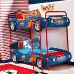 кровать машинка для двоих детей