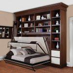 кровать-трансформер в кабинете