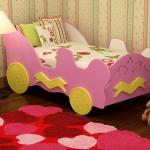 кровать машинка для девочек