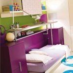 кровати-трансформеры для маленьких детских комнат
