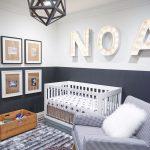 кроватка детская в современной спальне