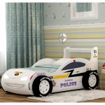 полицейская машинка кроватка для мальчика