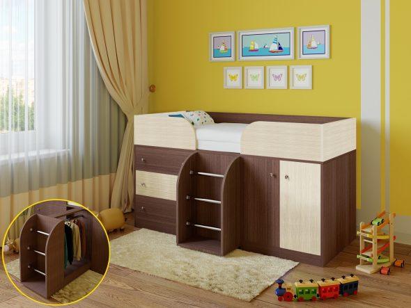 Малыш детская кровать