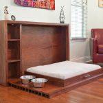 кровать-трансформер из натурального дерева