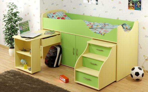 Оригинальная детская кровать