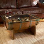 столик из бочки