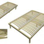 Ортопедические ламели для кровати
