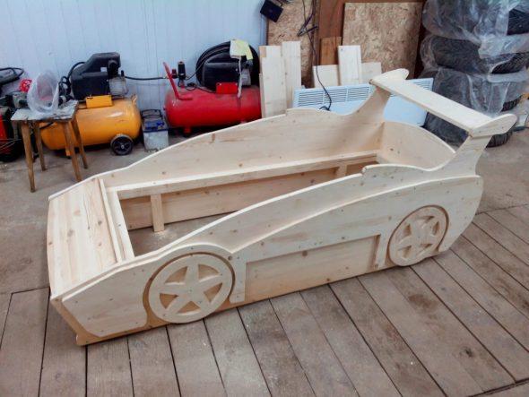 кровать машинка для ребенка