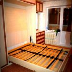 Откидная встроенная в шкаф кровать от Икеа