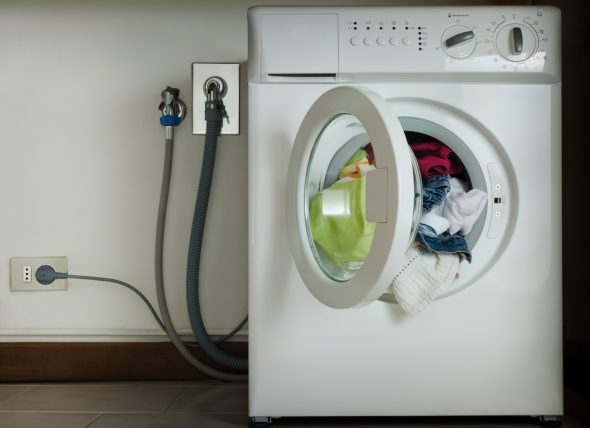 подключение стиральной машины к сети