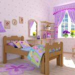 Раздвижная кровать для дочки