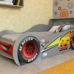 гоночная кровать машинка
