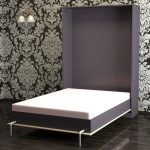 Модная и стильная шкаф кровать