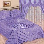 Фиолетовое покрывало