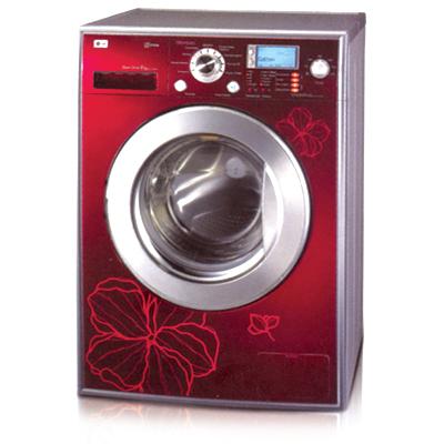 стиральная машина с узором