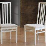 стулья дерево белые мягкие