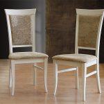 стулья деревянные белые мягкие