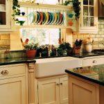 сушилка для посуды в интерьере