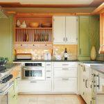 сушка для посуды в гарнитуре