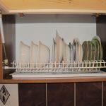сушка эмалированная в навесном шкафу