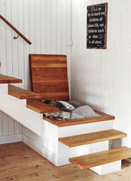 ящики в лестнице
