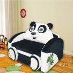 Детский раскладной диван Панда