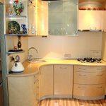 Дизайн оформления маленькой кухни