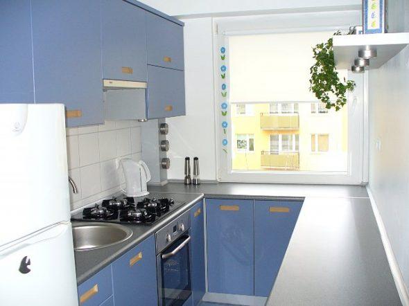 Длинная узкая кухня - планировка